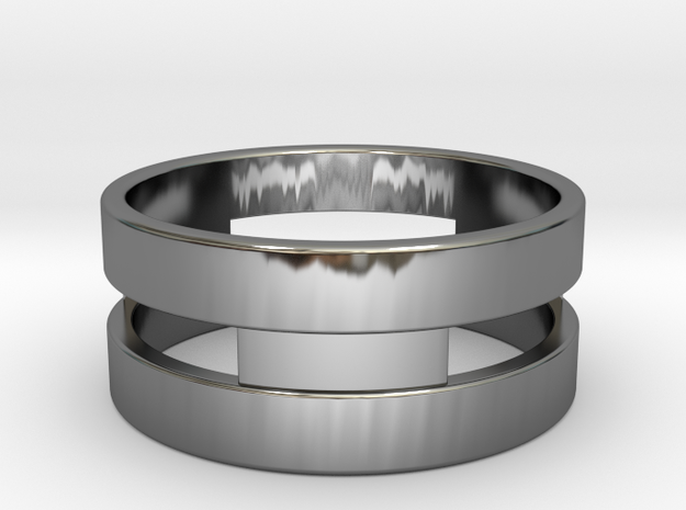 Ring g3 Size 6 - 16.51mm in Premium Silver