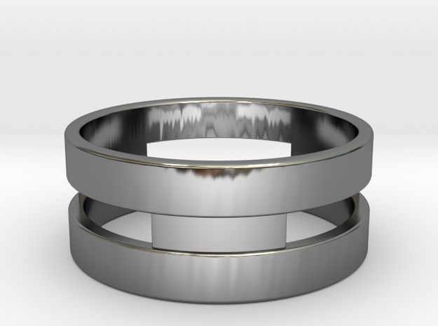 Ring g3 Size 7- 17.35mm in Premium Silver
