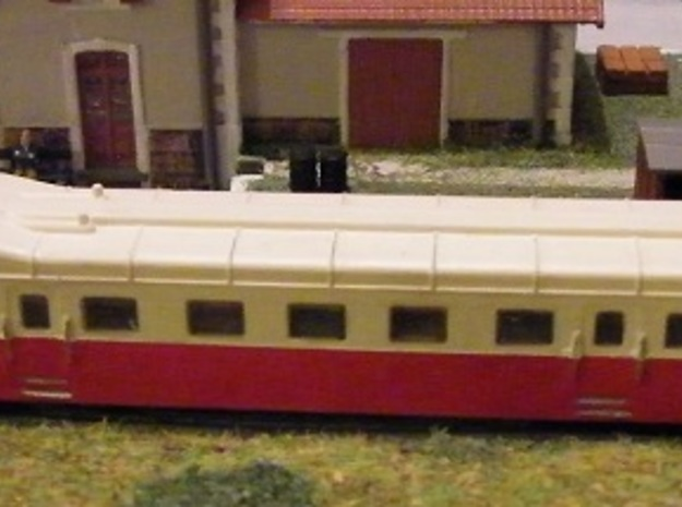 Autorail Renault ABH-6 Cote du Nord in Smooth Fine Detail Plastic