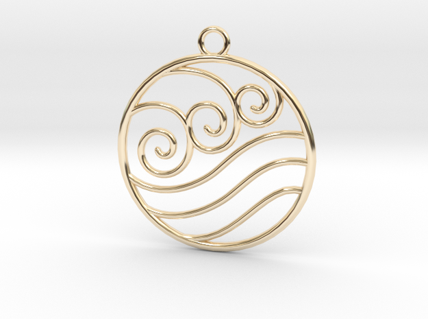 Avatar the Last Airbender: Water  in 14k Gold Plated
