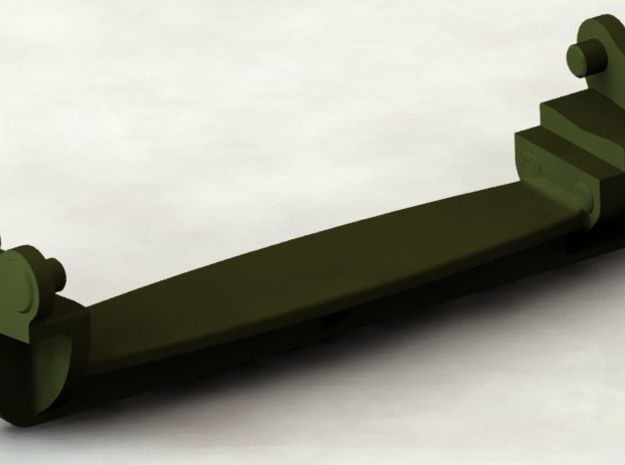 D48082 GROUSER ASSEMBLY 1:35 SCALE in Smooth Fine Detail Plastic