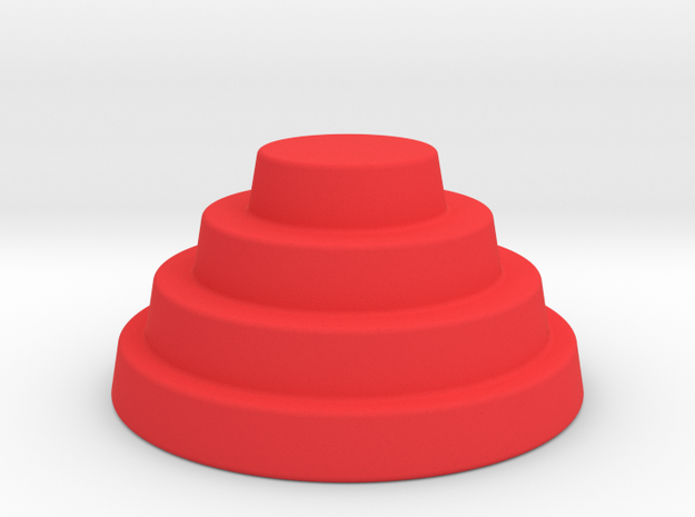 Devo Hat  78mm miniature / NOT LIFE SIZE!​
