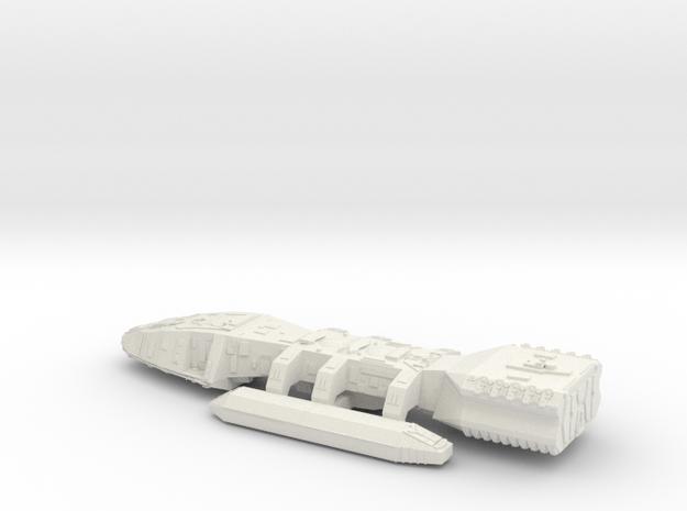 BSG in White Natural Versatile Plastic