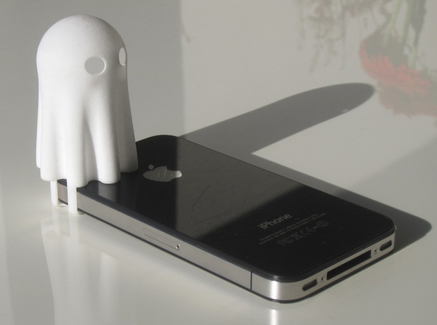 Lightclip: Ghost, iPhone 5/5s 3d printed