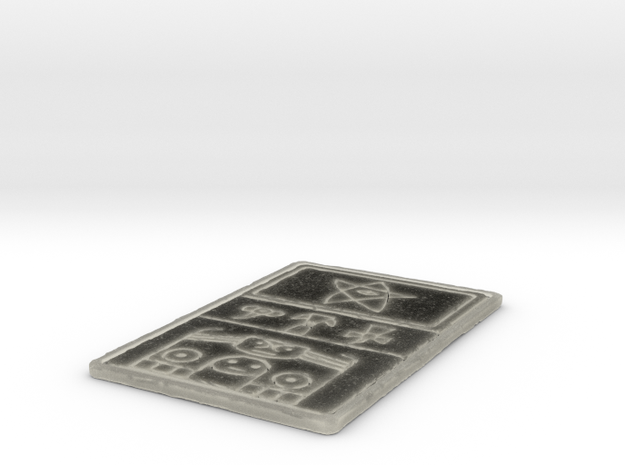 Ancient Panel 3d printed