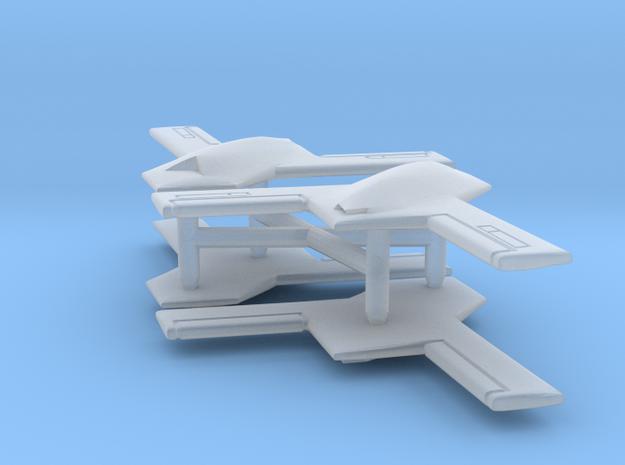 X-45B x4 (FUD) in Smooth Fine Detail Plastic: 1:600