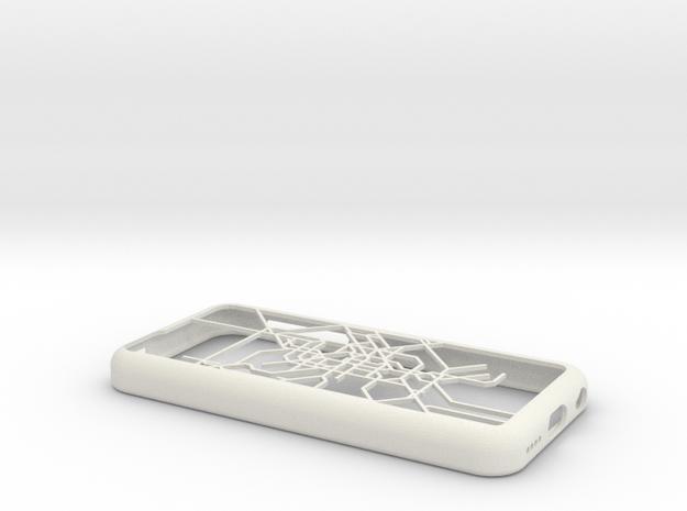 Berlin S-Bahn/U-Bahn map iPhone 5c case in White Natural Versatile Plastic
