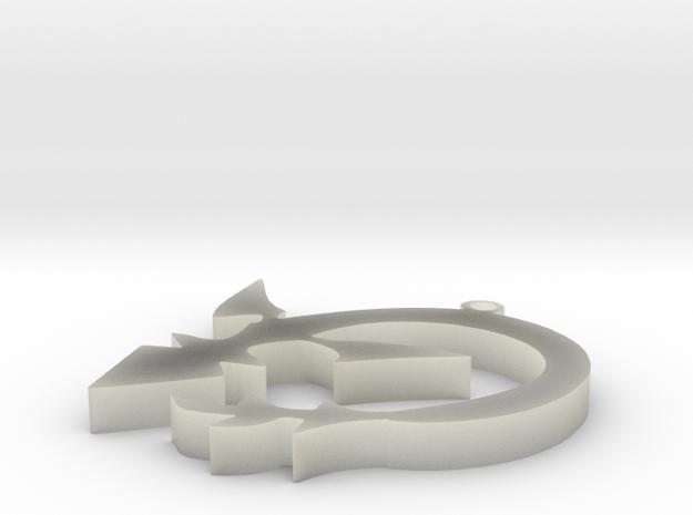 Sith Wyrm Sigil 3d printed