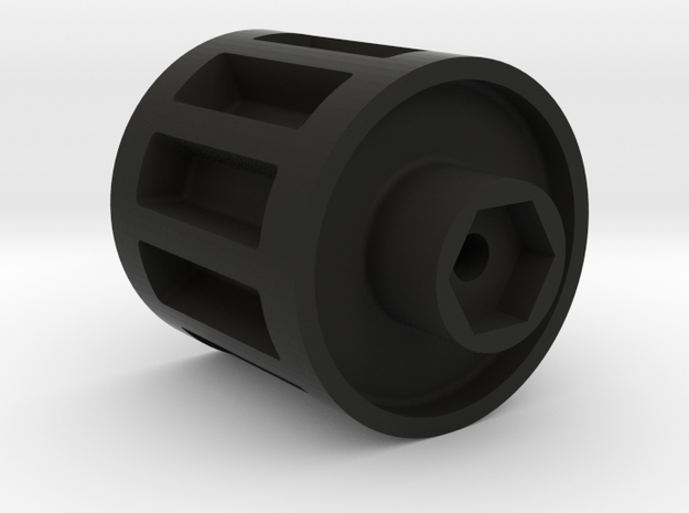 Radio Shack Mattracks Wheel Adapter in Black Strong & Flexible