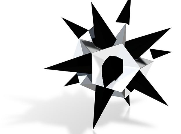 Sixth Stell of the Icosahedron - Panda 3d printed