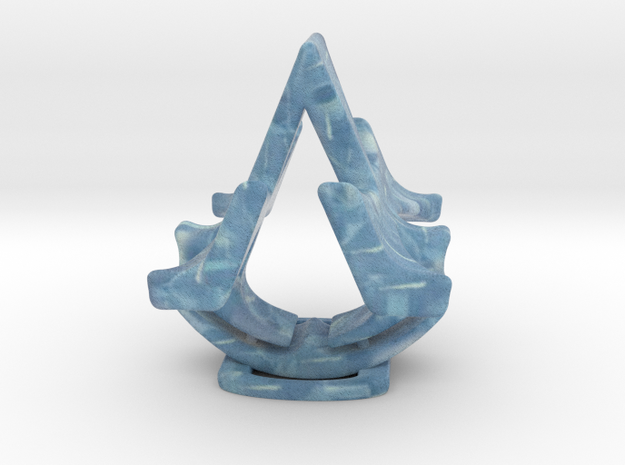 Assassins Creed Table Sculpture in Full Color Sandstone