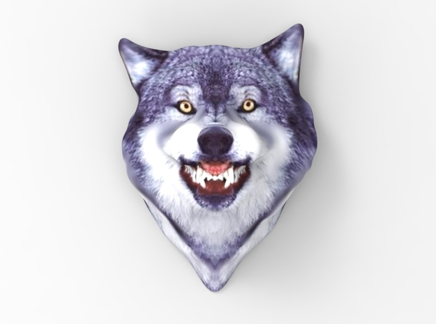 Courage Wolf Head