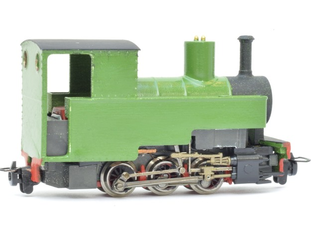 "Lynton & Barnstaple ""Axe"" (009) in Smooth Fine Detail Plastic"