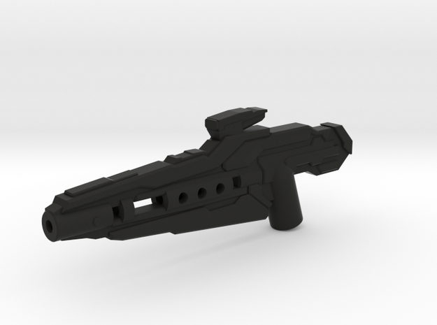 Photon Rifle in Black Natural Versatile Plastic