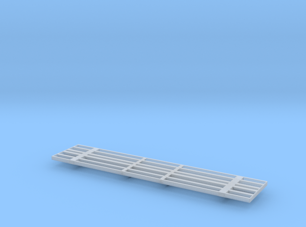 NP-BN Log Car HO Scale Frame Only in Smooth Fine Detail Plastic