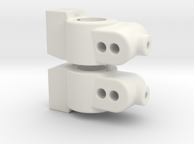CUSTOMWORKS - HUB CARRIER - 5 DEGREE in White Natural Versatile Plastic