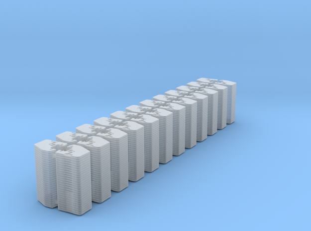 1/64 Front Weights 26 (24 Pieces) in Smooth Fine Detail Plastic