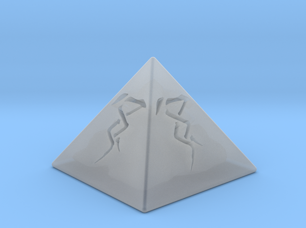 Doom Glyph in Smooth Fine Detail Plastic