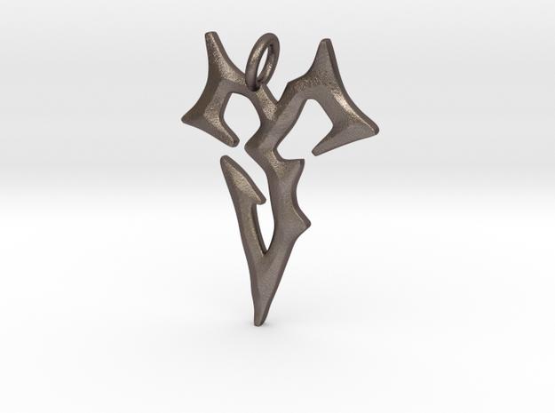 Final Fantasy Zanarkand Abes necklace / amulet 4cm