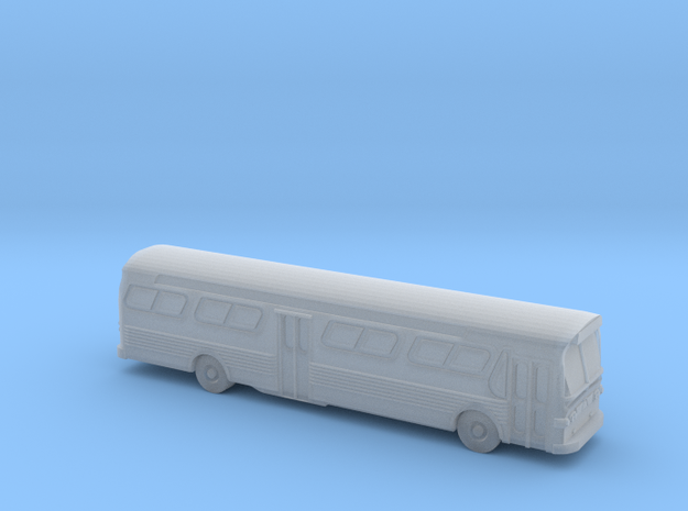 GM FishBowl Bus - HOscale in Smooth Fine Detail Plastic