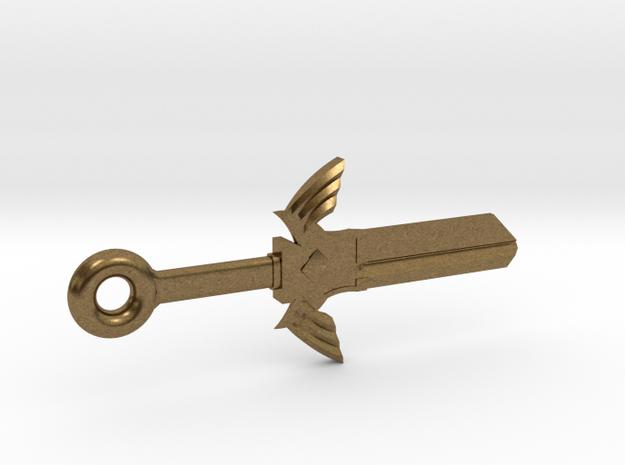 Zelda Master Sword House Key Blank - SC1/68 in Raw Bronze