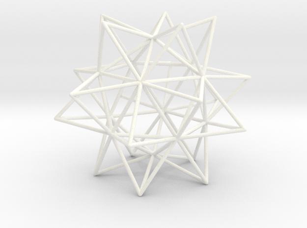 Ycocedron Elevatus Vacuus in White Processed Versatile Plastic
