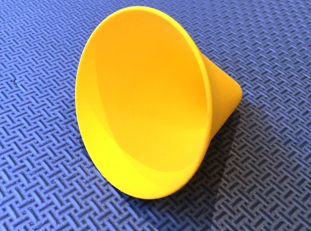 Fruit fly trap in Yellow Strong & Flexible Polished