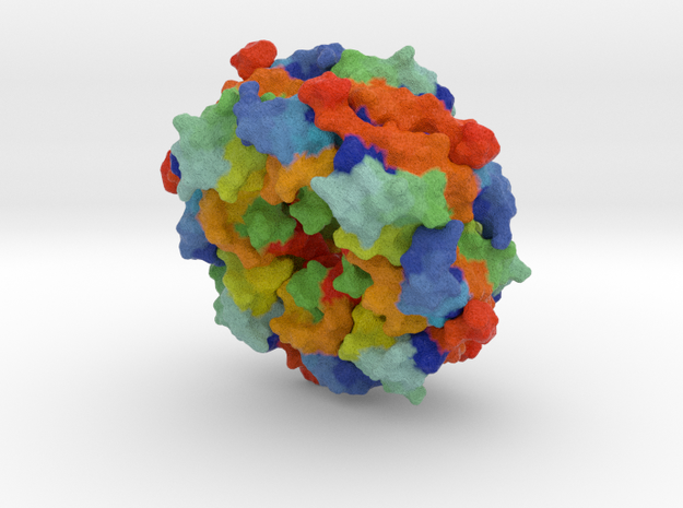 Ebola virus matrix protein in Full Color Sandstone