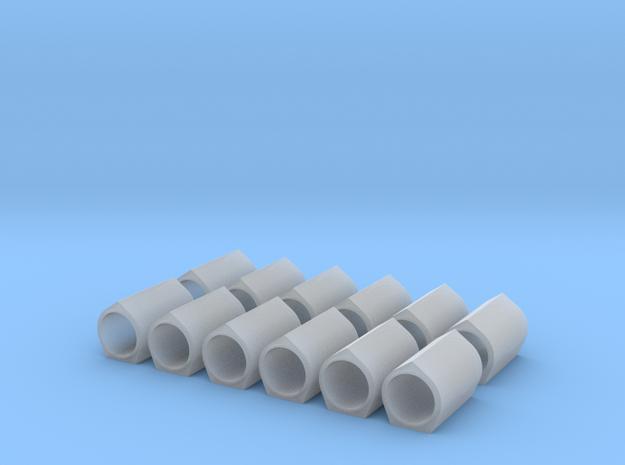 H0 1:87 Großlastrohr DN 500/1000 in Smooth Fine Detail Plastic