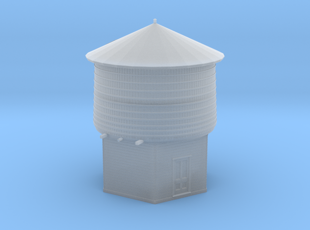 HO Scale PEIR 25K Gallon Water Tower  in Frosted Ultra Detail