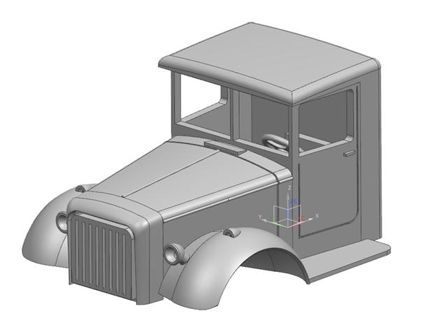 Mack-Truck-NR8-1to16 3d printed