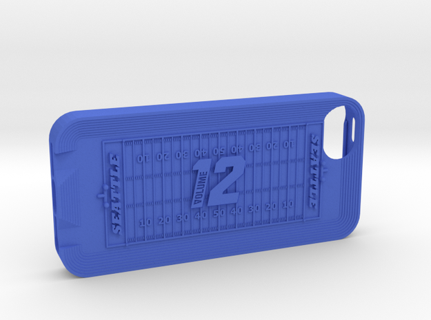 IPhone 5 12th Man 3d printed