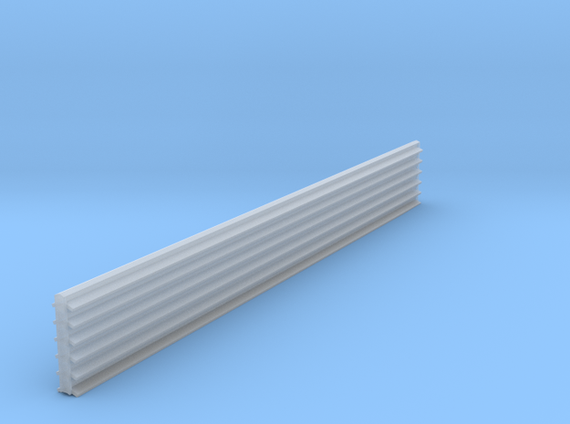 HO Scale 135 Degree Structure Corner Trim in Smooth Fine Detail Plastic