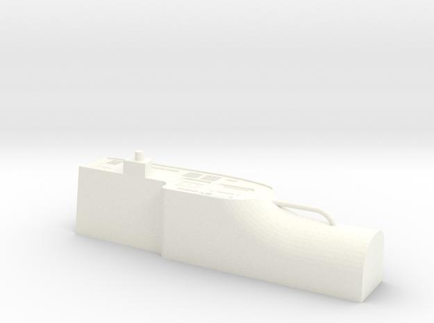 Dashboard HDJ80 in White Processed Versatile Plastic