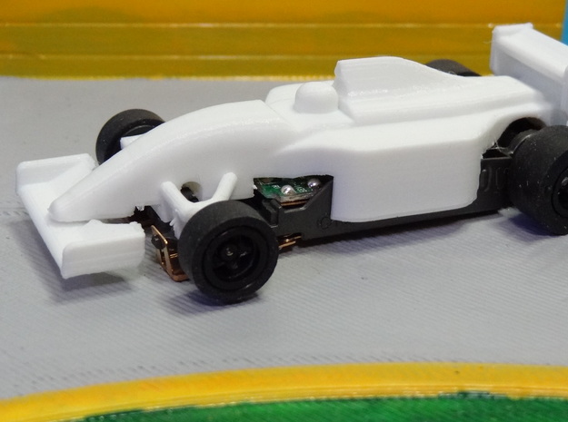 HO F1 1992 FW14B Slot Car Body