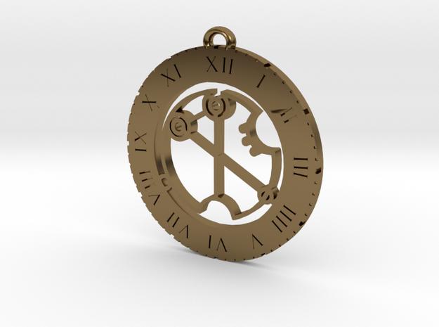 Virginia - Pendant in Polished Bronze