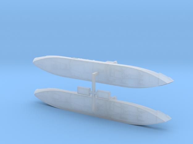 "German Auxiliary Cruiser HSK ""Widder"" 1/2400 3d printed"
