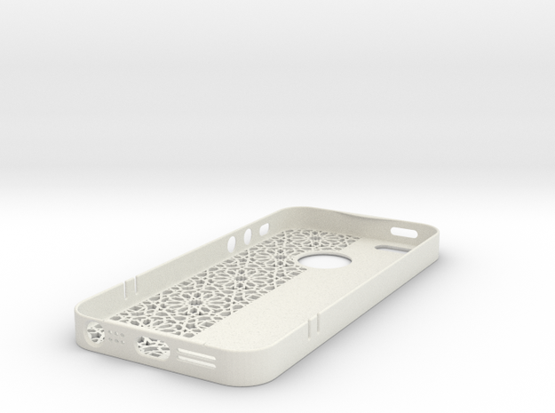 Iphone5 Case Islamart in White Strong & Flexible