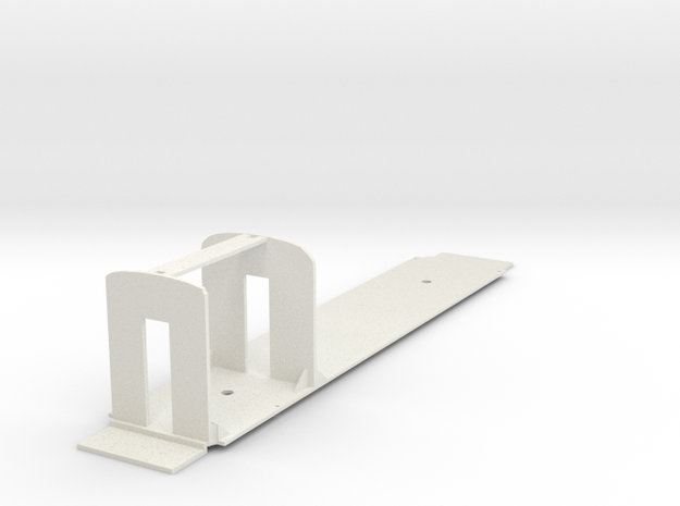 H&F Combine O Scale REPLACEMENT FLOOR in White Natural Versatile Plastic