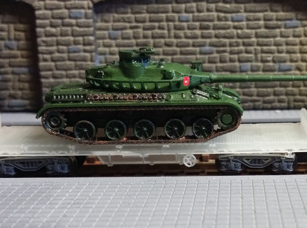 SET -N-Plataforma-PMM+AMX-30E-proto-01 in Smooth Fine Detail Plastic