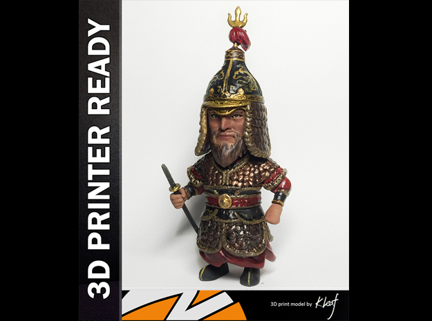 Admiral Yi Sun Sin Printing in White Strong & Flexible