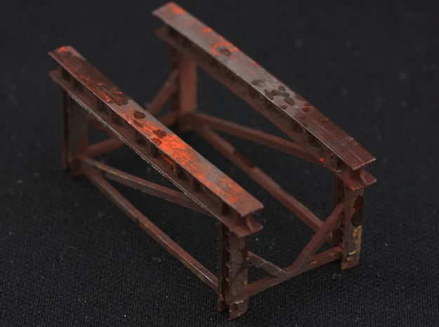 1/32 WWI Flugmotor Stand in Smooth Fine Detail Plastic
