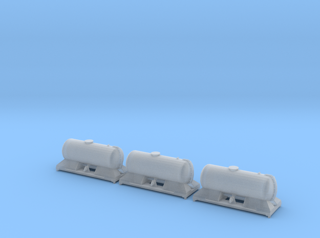FEA-B RHTT All Tank Set for Third Wagon in Smooth Fine Detail Plastic