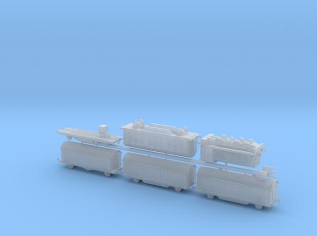 "K5 (E) ""Leopold"" Ammo Train 1/285 6mm 3d printed"
