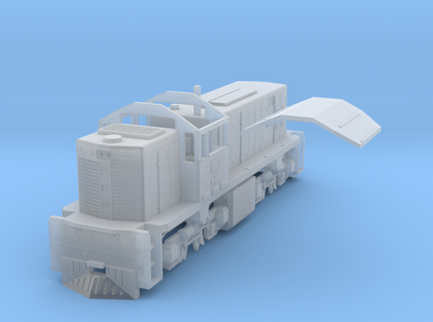 PBR DH(N/1:160 Scale) in Smooth Fine Detail Plastic