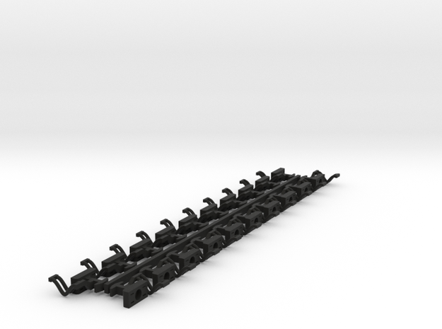Graham Farish Mk 2 Coach Electromagneclix Couplers in Black Natural Versatile Plastic