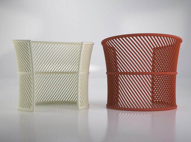 Wired cuff - Medium Size 3d printed VRay render