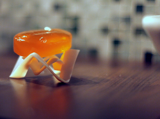 niemeyer soap dish 3d printed