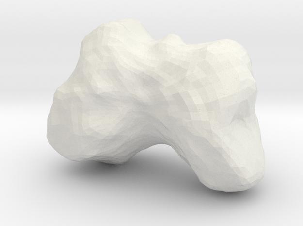 4486 Mithra (1:100,000) in White Natural Versatile Plastic