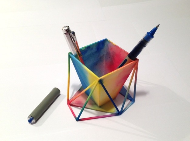 Paint your Pen Holder 3d printed